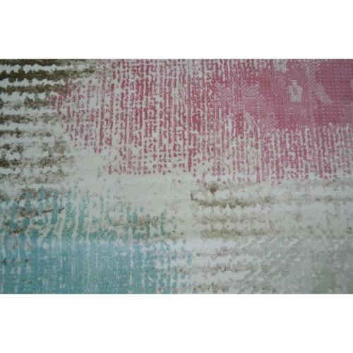 Χαλιά Bellagio Cream Blue/Pink 100x300cm GN3505-1x3