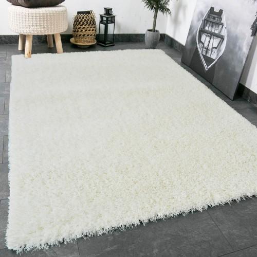 Χαλιά shaggy Infinity Soft Touch White 160x210cm SQL-1297-2-160