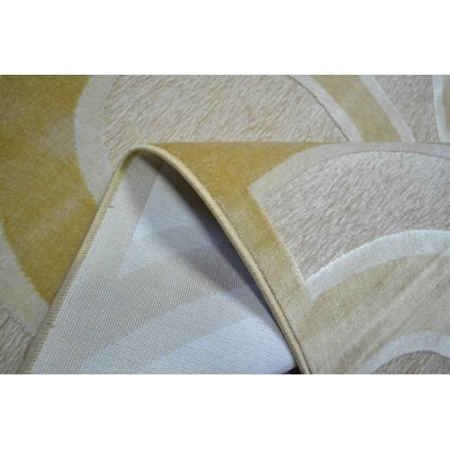 Χαλιά Viscose Chenille Lavi-E 150x190cm 4569-4 Beige