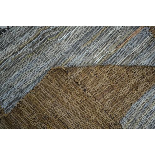 Χαλιά Δερμάτινα Beige Choco Camel 120x170cm 1001-120-8