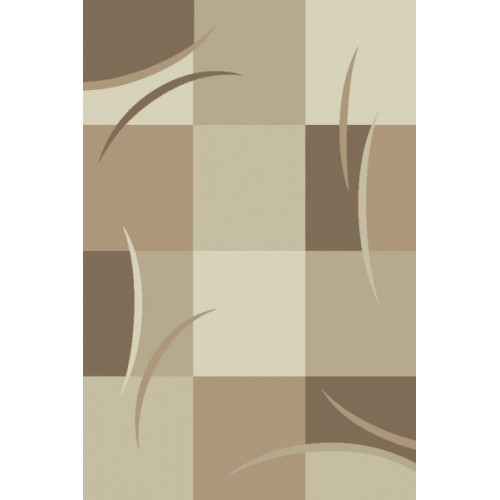 Χαλιά Madison Frieze F594-2-100 D Beige-L Beige 100x140cm