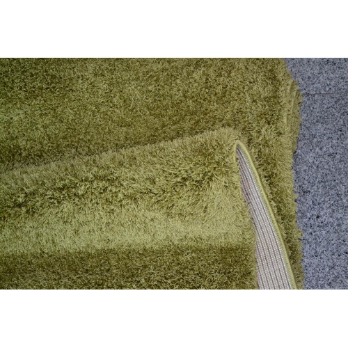 1+1 Δώρο Χαλιά Velvet Soft Touch Shaggy 133x160cm D Green A01820-1-133