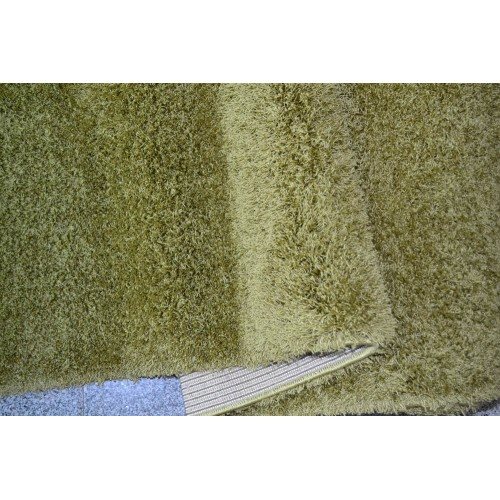 1+1 Δώρο Χαλιά Velvet Soft Touch Shaggy 190x230cm D Green A01820-1-190