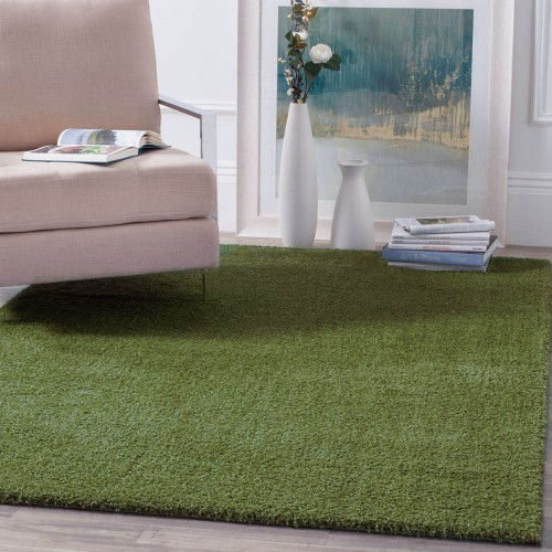 Χαλιά Velvet Soft Touch Shaggy 150x190cm D Green A01820-1-150