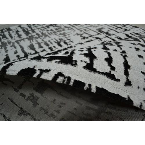 Διάδρομος ανάγλυφος της σειράς Bologna Γκρι Σκούρο (D.Grey) 80cm 3071-1a-80