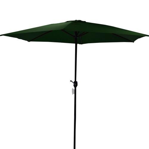 Ομπρέλα Ø300cm κήπου διαιρούμενη με μανιβέλα Πράσινη  (GJRA030-4)