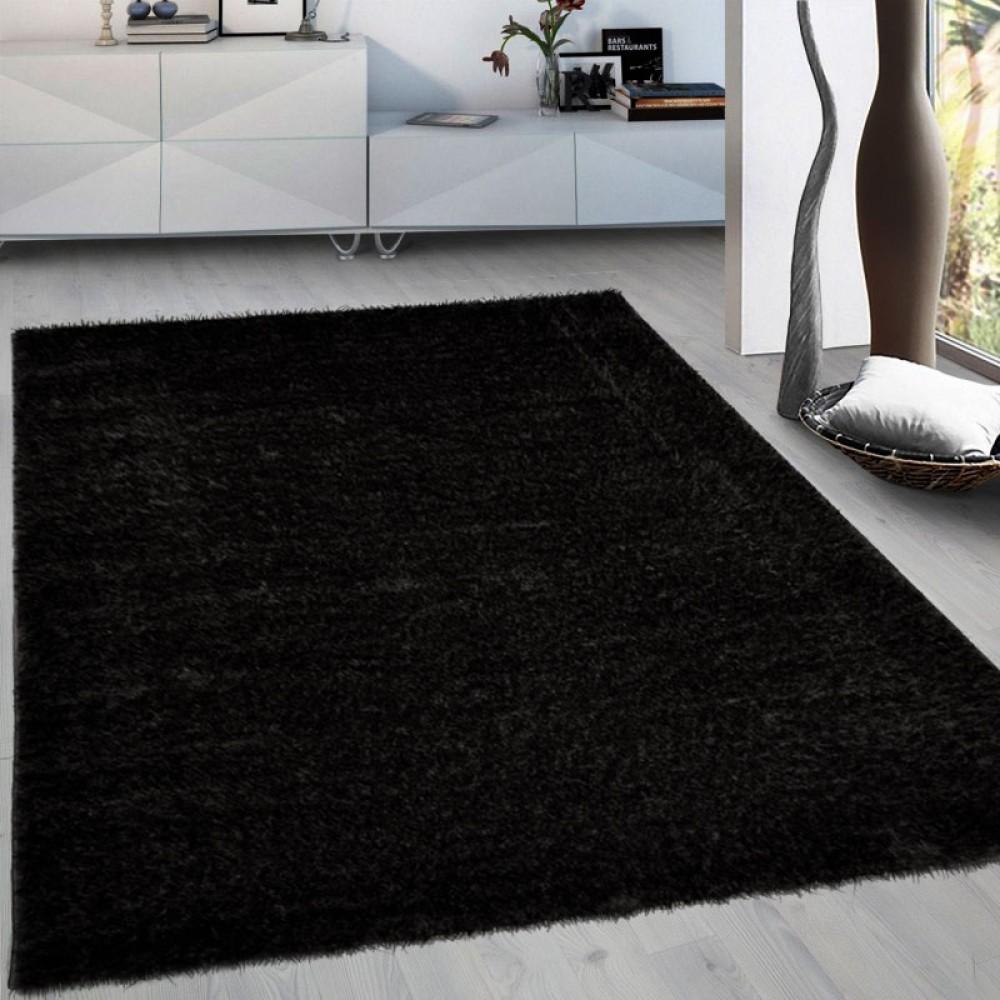 Χαλιά Brilliance shaggy 3D Black 160x210cm  1774-3-160