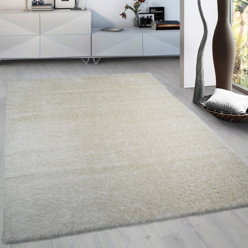 Χαλιά Brilliance shaggy 3D Beige-Cream 160x210cm  1774-1-160