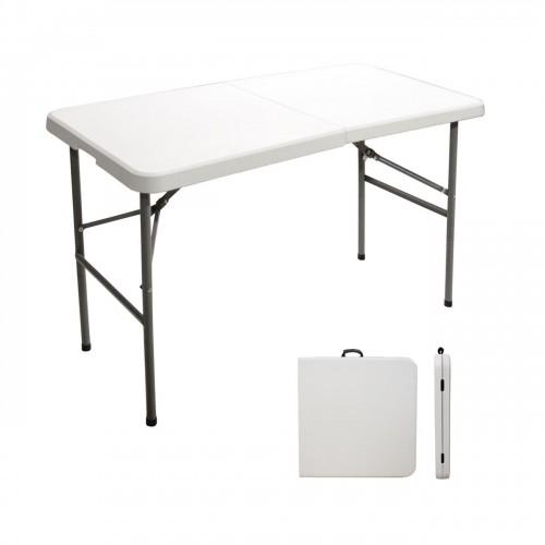 Τραπέζι catering-συνεδρίου πτυσσόμενο (βαλίτσα) Rodeo 122x60x75cm 142-000004 από ενισχυμένο μεταλλικό σκελετό χρώματος γκρι